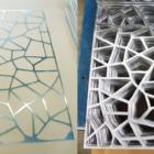 panneaux aluminium decoupe laser